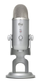 Microphones Blue Yeti Usb - Prata Edition - Legacy Games