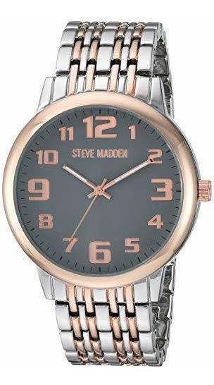 Reloj Hombre Steve Madden Original Imponente 44mm