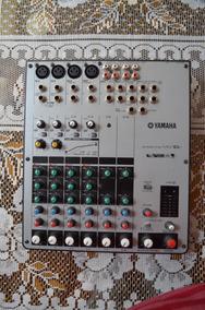 Mesa De Som Yamaha Mw 10c Usb Mixer