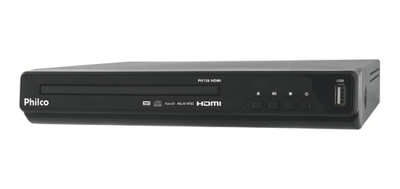 Dvd Player Philco Sv Vcd Ph136 Hdmi C/ Entrada Usb