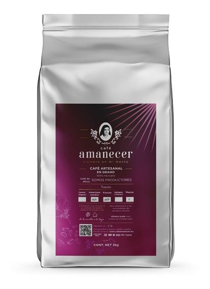 Café Amanecer 100% Puro, Gourmet De Altura 2kg En Grano