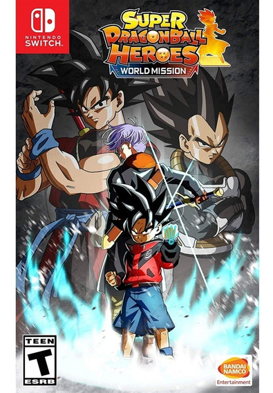 Super Dragon Ball Heroes World Mission Switch Mídia Física