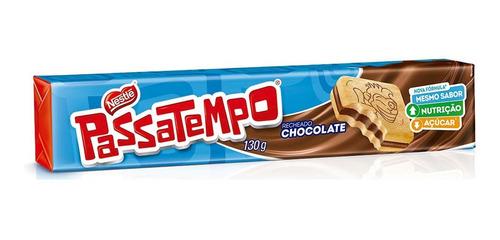 Biscoito Recheado Passatempo Nestlé 130g