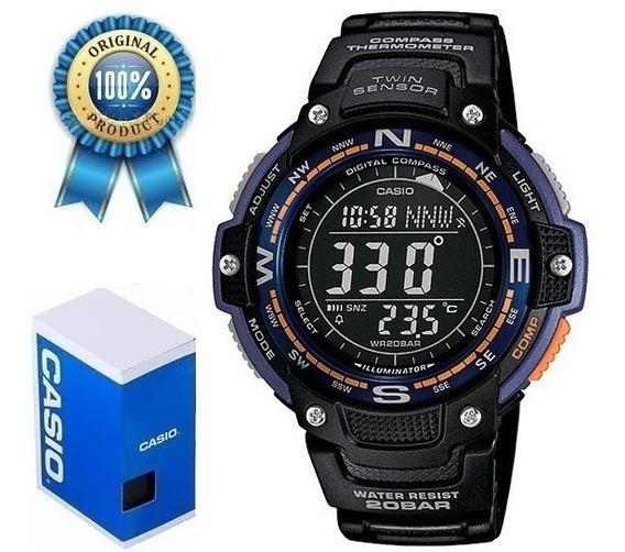 Reloj Casio Sgw100 Brújula Termómetro Cronometro
