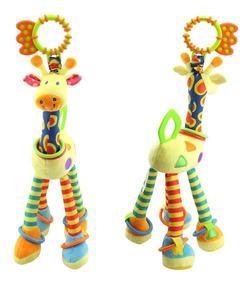 Chocalho Mobile Bebês Mordedor Girafinha Brinquedo
