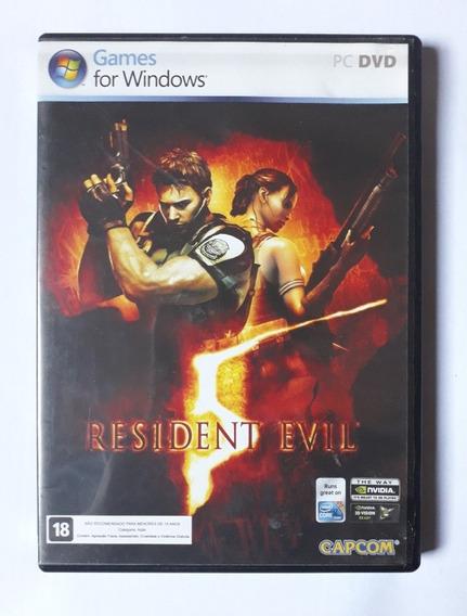 Resident Evil 5 Original Americano Completo Pc Windows