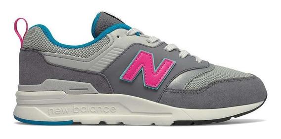 Tênis New Balance 997 Infantil Cinza