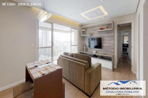 Apartamento Para Venda Em São Paulo, Vila Mascote, 3 Dormitórios, 1 Suíte, 2 Banheiros, 2 Vagas - 12756_1-1525141