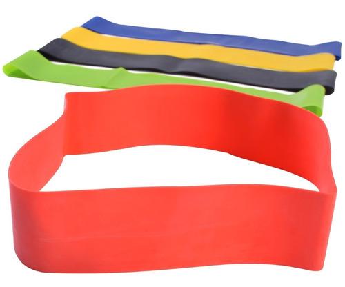 Tiraband Circular Novedad ! Tensión Intermedia Colores - Banda Elastica Redonda Para Piernas