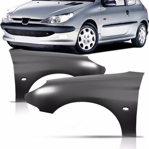 Paralama Dianteiro Peugeot 206 99 A 04 05 06 07 08 09 10 11