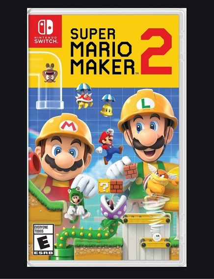 Jogo Super Mario Maker 2 - Nintendo Switch