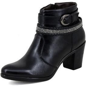 fa62f1de2 Saltos Medios Pretos Baratos - Sapatos com o Melhores Preços no ...