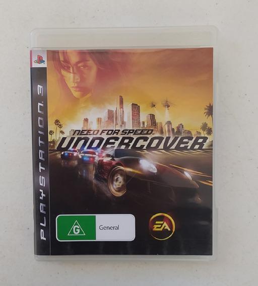 Jogo Need For Speed Undercover - Ps3 - Original - Corrida