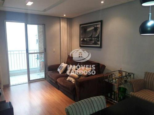 Imagem 1 de 21 de Apartamento Com 3 Dormitórios À Venda, 75 M² Por R$ 615.000 - Jaguaré - São Paulo/sp - Ap0317