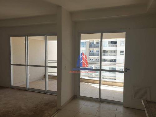 Imagem 1 de 30 de Apartamento Com 3 Dormitórios À Venda, 121 M² Por R$ 850.000 - Jardim Paulista - Americana/sp - Ap1633