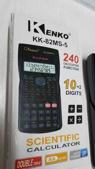 Calculadora Científica Kenko Kk82ms 5 240 Funciones