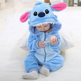 Macacão Bebê Bichinho Fantasia Stitch Infantil - Envio 24 H