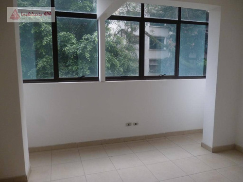 Imagem 1 de 10 de Conjunto Para Alugar, 33 M² Por R$ 500,00/mês - Consolação - São Paulo/sp - Cj0071