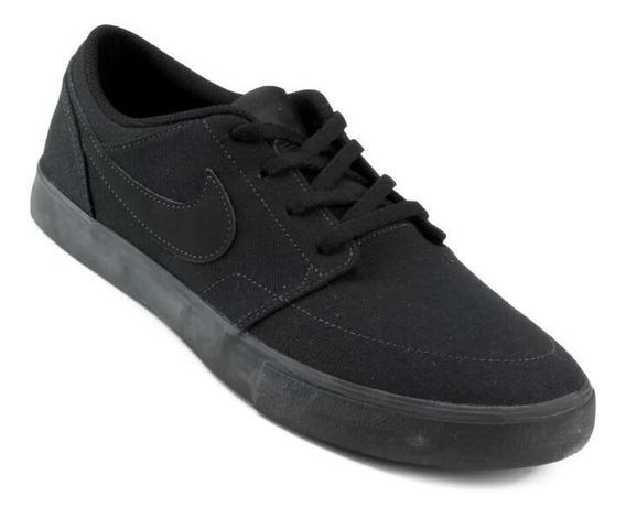 Tênis Nike Sb Portmore Preto Masculino Black Friday