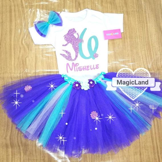 Tutus De Princesas Con Glitter De La Talla 6 A La Talla 12