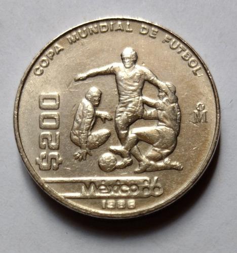 Moneda De 200 México 86