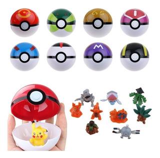 Pokebolas Sorpresa Pokemon Pokeball Precio Por Unidad
