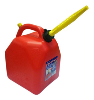 Bidon Para Gasolina 20 Litros Rojo