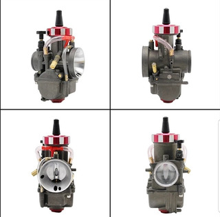 Carburador Universal Racing Cortina Plana Pwk 28 30 32 34 Mm