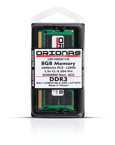 Memoria 8gb Ddr3 Notebook 1600mhz Pc3-12800 Mac Book Pro Mac