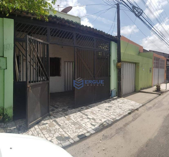 Casa Com 2 Dormitórios À Venda, 90 M² Por R$ 230.000,00 - Montese - Fortaleza/ce - Ca0957