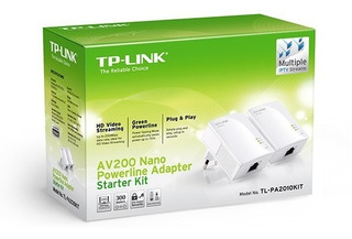 Internet Por Red Electrica, Tp-link Powerline Av200