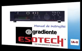 Manual Do Amplificador Gradiente Ia-ii (colorido)