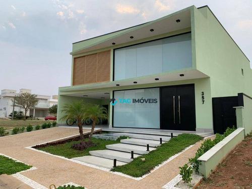 Imagem 1 de 5 de Sobrado Para Venda Com 470 M² No Parque Brasil 500 Em Paulínia - Sp. - So0098