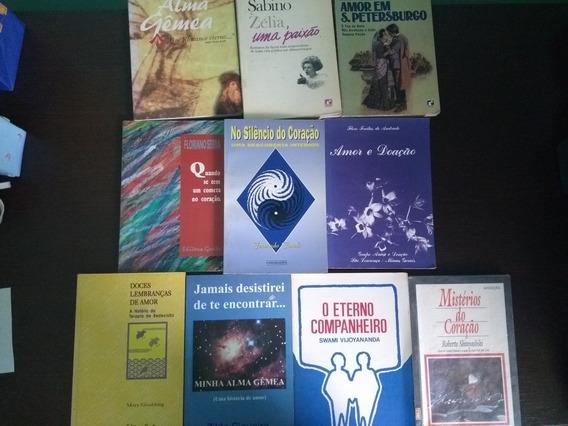 Kit Livros Amor, Paixão E Coração