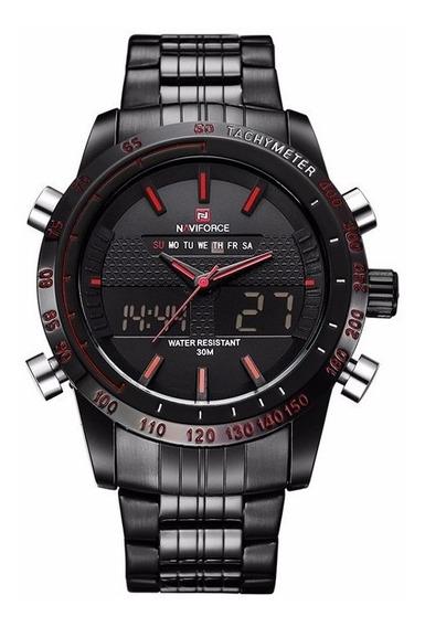 Relógio Naviforce Original Masculino Barato Digital Analógic