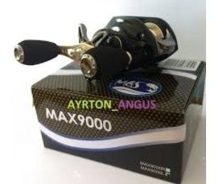 Carretilha Mgs Max 9000l - 9 Rol Esquerda + Melhor Preço!