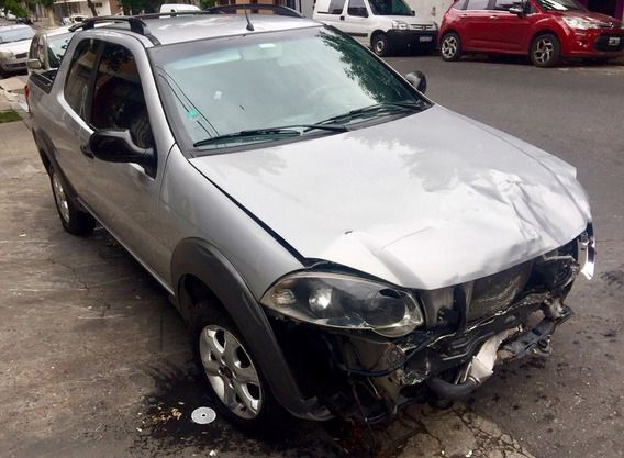 Fiat Strada Trekking 1.3 Jtd 2015 Chocado