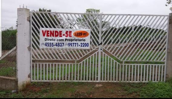 Chácara Em Guararema-sp, Pronta Para Construir