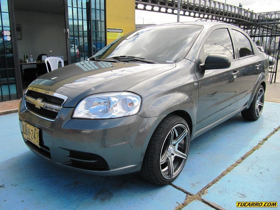 Chevrolet Aveo Emotion 1600cc Mt Aa
