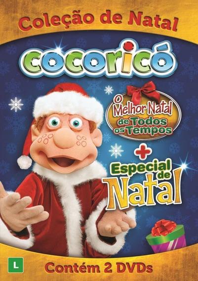 Cocoricó - Coleção De Natal - 2 Dvds