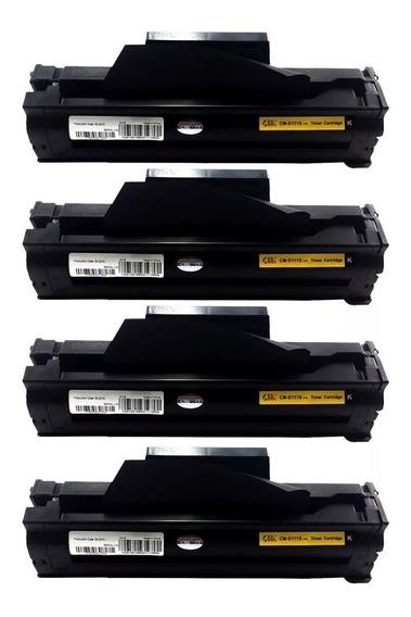 Kit 4 Toner Compatível Mlt-d111 D111 M2020 M2020w M2070w