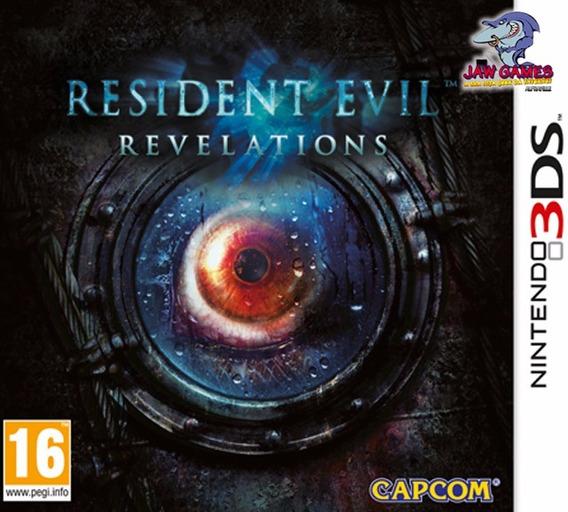 Jogos 3ds - Resident Evil Revelations - Usado Frete R$ 9,90)
