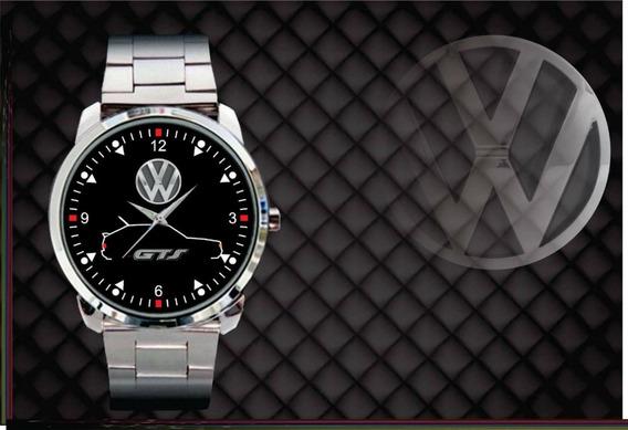 Relógio De Pulso Personalizado Vw Gol Quadrado Gts Gol Gts