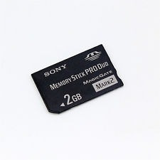 Memory Stick Pro Duo Sony Ms-2g/n