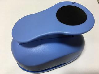 Furador Scrapbook Círculo Liso Papel Corte 5cm 2 Polegadas
