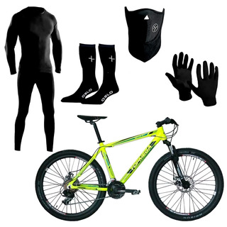 Bicicleta Top Mega Neptune R26 21 Aluminio + Kit Termico Fas