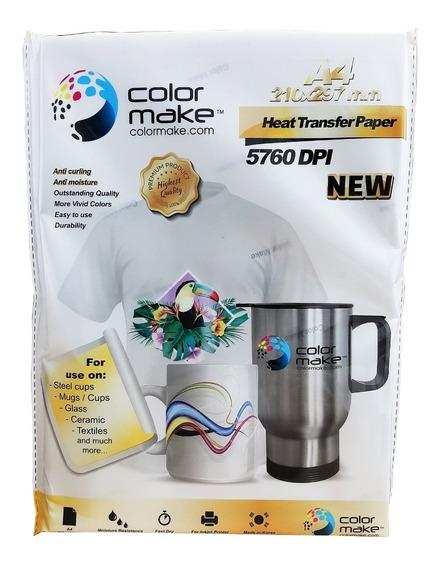 Nuevo Papel Premium Para Sublimación A4 100 Hojas Colormake