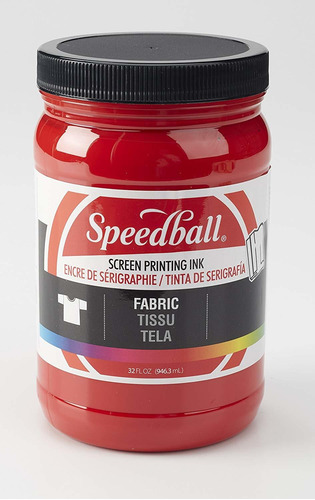 Speedball 004575, 4575, Tela Serigrafía Tinta, 32 Fl Oz,