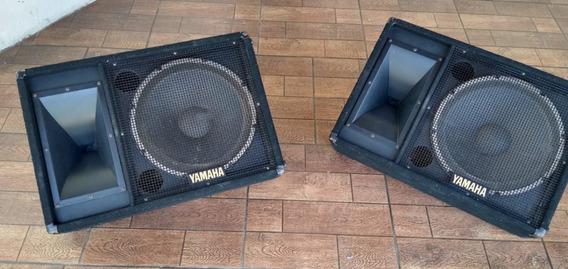 Monitores Passivos Palco, 2 Yamaha E 2 Spl Com Driver Jbl