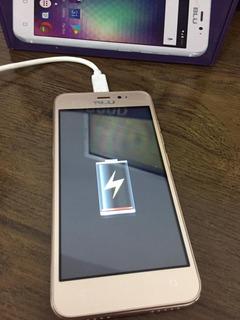 Celular Android Blu Grand Mini Dual Chip Usado Com Defeito!!